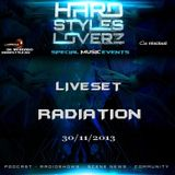Radiation - Hard Styles Loverz - Hardstyle.nu - Saturday 30 November 2013