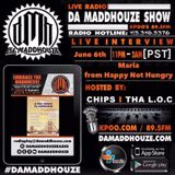 Da Maddhouze sits down with the founder of Happy Not Hungry SF on K.P.O.O 89.5 FM