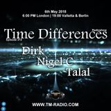 Dirk - Host Mix - Time Differences 313 (6th May 2018) on TM Radio