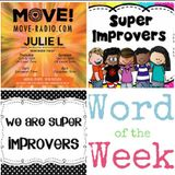 "JULIE L 13TH MAY 2018 ""WORD OF THE WEEK - IMPROVERS PART 1"" - SHOW 90"