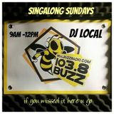 SINGALONG SUNDAYS with them classic hits maaaad vibez