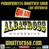 PunkrPrincess Whatever Show live interview with Albatross Overdrive recorded live 9/12/17