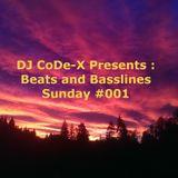 DJ CoDe-X - Beats & Basslines Sunday #001
