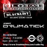 BLACKLIST #19 by Drumatick (7-9-2018)