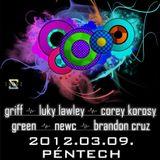 2012.03.09 NewC Live MadeInMiskolc @ Kettes Klub