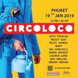 wAFF – Live @ Circoloco Thailand [Baba Beach Club, Phuket] 19.01.2019