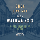 qbek - live mix from walowa XXIX - 2018-03-03