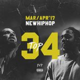 JVP's TOP 34 MAR/APR NEW HIPHOP RELEASES