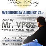 Mr.VPoz @ Season Closing Full Moon Beach Party August 2013 Santa Marina Private Beach Myconos Part 1
