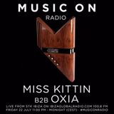 Miss Kittin b2b OXIA - Live at MUSIC ON, STK Ibiza on Ibiza Global Radio 100.8 FM (22-07-2016)