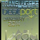 Jordy Jurrius - Translucent Waves Beatport Top 10 Chart Mix (January 2014)