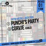 Venarock con CORVJE de Chile y a los organizadores del Punchi's PARTY .