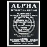 DJ Monsoon, DJ Scratch, Dj Festa & DJ HMC @ ALPHA Civic Theatre, Halifax (31st July 1993 - Part 2)