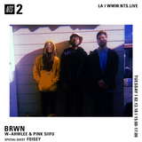 BRWN w/ Awhlee, Pink Siifu and Foisey - 13th February 2018