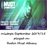 Dimitris Karavis Mixtape September Radio Must Athens 20-9-15