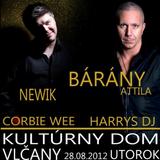2012.08.28. barany attila+newik+harrys dj+corbie vee live @ farkasd