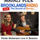 Porter Nickerson Live in Session on Brooklands Radio Mainly Folk