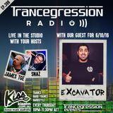 James on Trancegression 398 Kiss Fm Dance Music Australia 06/10/16