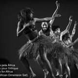 Sam dharma - Dança pela África.Danse pour l'Afrique. Dance for Africa. (Pan-African Dimension Set)
