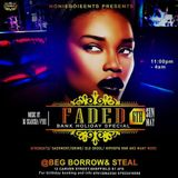 FADED AUDIO LIVE MIX (COMMERCIAL SETTINGZ) - RNB HIPHOP DANCEHALL AFROBEATS FUNKY UKG