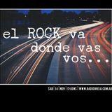 EL ROCK VA DONDE VAS VOS - TALLER DE RADIO 14/11/2015 WWW.RADIOOREJA.COM.AR