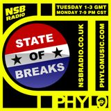 The State of Breaks with Phylo on NSB Radio - 06-30-2014