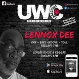 DJ Lennoxdee live on UWC internet radio Friday 4th Jan 19