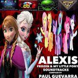 ALEXIS frozen & my little pony