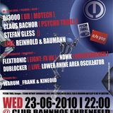 Claus Bachor @ c/o pop Start Up Party - Club Bahnhof Ehrenfeld Köln - 23.06.2010