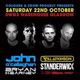 The Noble Six Live @ SWG3 Warehouse, Glasgow, Scotland 22-10-2016