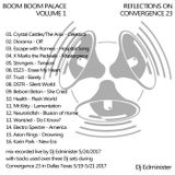 Dj Edminister - Boom Boom Palace volume 1:Reflections on Convergence 23
