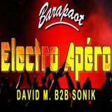 2016-01-16 David M. b2b Sonik - Electro Apéro @Barapaot