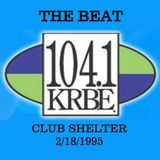 Shelter on KRBE The Beat February 18, 1995 Side B