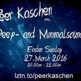 Peer Kaschen LIVE @ LZTN.TO - Easter Deephouse Mix-Session 27.03.2016