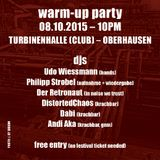Andi Aka @ MF 2k15 Warm-up Party (Cosmo Club/Turbinenhalle Oberhausen) 3am - 4am