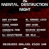 DieBilo @ Dark Signs & Mental Destruction Night (28-09-2013)