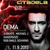 Kaisersoze @ Creative - Citadela Warm Up - Chapeau Rouge - Praha - 11.09.2015
