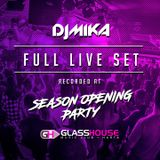 Dj Mika Live @ Glasshouse Season Opening Party (4+hrs FULL SET) [2017.09.22.]