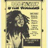 Bob Marley & The Wailers Live Boston Music Hall, June, 8 1978 (Early Show)