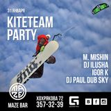 Igor Kremnev - KiteTeam Party Maze Bar 31-01-15