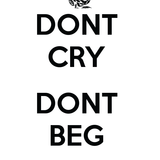 Don't Cry,Don't Beg: Cyber Bullying Rant