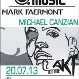 Mark Faermont & Michael Canzian Live at 2. Akt Zurich 20.07.2013 - Pt1