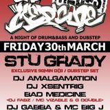 Stu Grady - Bad Medicine Drum n Bass set - March 2012
