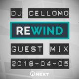 DJ Cellomo - Bremen NEXT Rewind mit Stunnah Guest Mix 2018-04-05