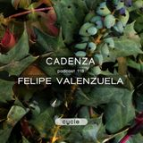 Cadenza Podcast | 118 - Felipe Valenzuela (Cycle)