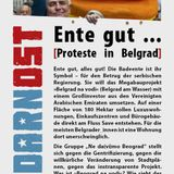 Information and discussion event: Anti-gentrification protest against Belgrade Waterfront