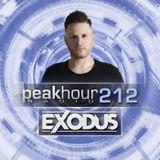 Peakhour Radio #212 - Exodus (Sept 6th 2019)