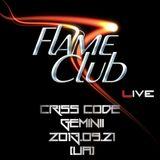 Criss Code & Geminii (Live DJ Set) @ Flame Club [UA] (2013.09.21)