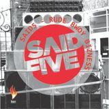 Said5 - Rude bwoy bizness (live DJ set)