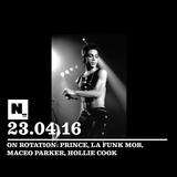 Nómada (23.04.2016): Prince, La Funk Mob, Maceo Parker, Hollie Cook
